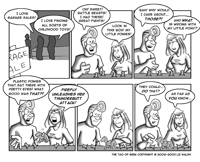 Tao of Geek comic: June 9, 2005